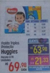 Fralda Huggies Turma da Mônica G