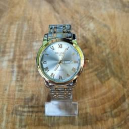 Relógio Masculino Belushi aço inoxidável a prova d?água movimento Quartz