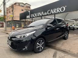 Toyota yaris xls com teto 2019 único dono ipva 2021 pago na garantia