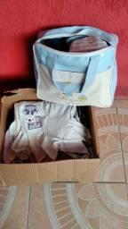 Vendo roupas de bebê menina e menino, peças ou lote
