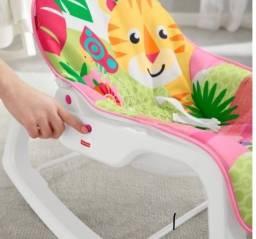 Cadeira de Descanso Bouncer Tigre Rosa GDP95 - Fisher Price