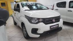 Fiat Mobi Easy 1.0 Flex 2018 Branco Super Novo IPVA 2021 Pago Doc OK