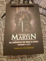 Game Of Thrones edição de Colecionador. As Crônicas De Gelo E Fogo