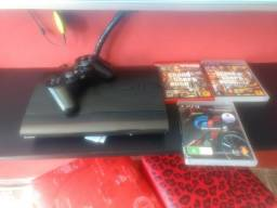 PS3 + 3 jogos