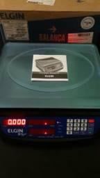 Balança ELGIN 15 KG. BATERIA / NOVA