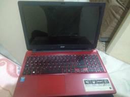 Notebook Acer E5-571-51AF com a 5ª geração do processador Intel Core i5-5200U 1TB HD