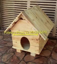 Casa para cachorro, desmontavel, para facilitar a