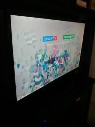 Tv Panasonic 32 polegadas +Tv Box (aceito cartão de crédito)