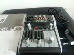 Mesa mixagem usb behringer