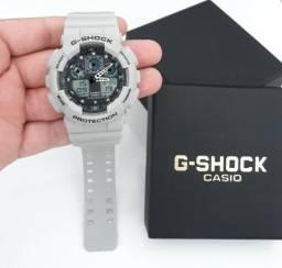 Relógio G Shock Casio Cinza