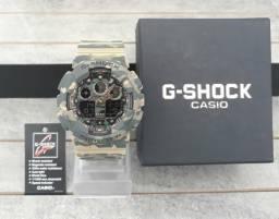 8969facfaf7 Relógio G Shock Tático Camuflado