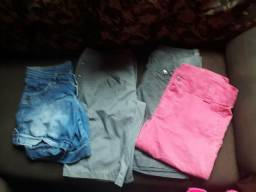 Vendo todos 04 shorts tam 40 feminina