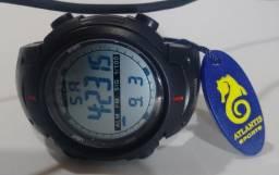 1753d540354 Relógio Masculino Esporte Digital Resistente À Agua Militar ( atlantis  original)