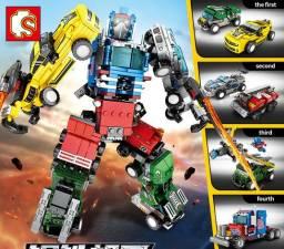 Lego Brinquedo de Transformação Robô, 777 Peças, Blocos de Brinquedo, Novo, Tipo Lego
