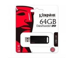Pen Drive De 64gb Usb 2.0 Data Traveler Série 20 Original