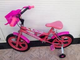 Bicicleta infantil feminina aro 16 # barbie