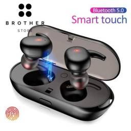 Fone de Ouvido TWS-Y30 auricular Bluetooth 5.0 de Pareamento Automático