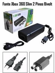 Fonte Para Xbox 360 Slim Bivolt 135W 110/220V (entrega grátis)