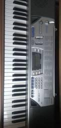 Teclado Casio CTK496 com pedal