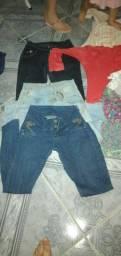 Vendo lote de roupas para bazar ou usar no dia a dia