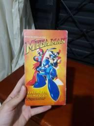 VHS Mega Man Colorido Embalagem Original