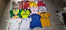 Vendo Lote de Camisas de Futebol.