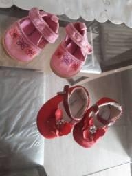 Vendo sapatos infantil tamanho 15 a 16 rn