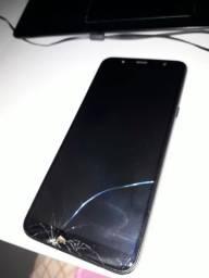 Galaxy A6 PLUS Estragado