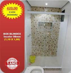 Box Blindex 1,10 x 1,80 (Instalado)