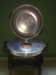 Churrasqueira de fogão Churrasquita em alumínio