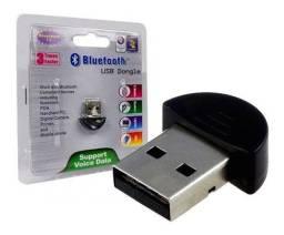 Adaptador Bluetooth 2.0 Conector Pc Dongle Usb Fone De Ouvido