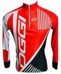 Camisa Ciclismo MTB Oggi Vermelha 2019 Pro Tour