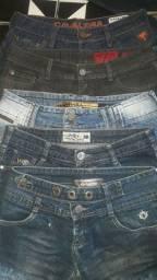 Shorts Jeans de Grifes
