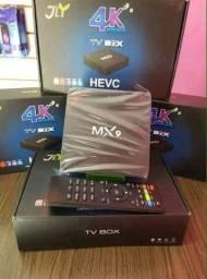O Smart TV Box MX9 4K