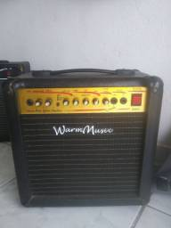 Cubo amplificador Warm Music 108 D.R pra guitarra