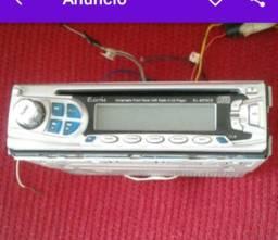 Toca CD e rádio