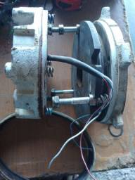 Sistema de freio para guincho sew