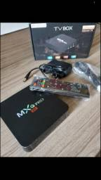 Tv box 64 gigas 4 ram