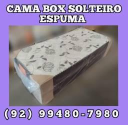 Cama box solteiro entrega gratis