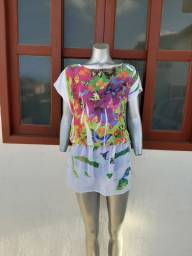 Vestido saída de praia, Tam M