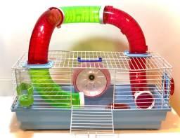 Gaiola de hamster seminova