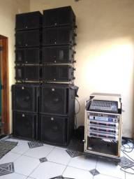 Vendo amplificadores inuke e rack