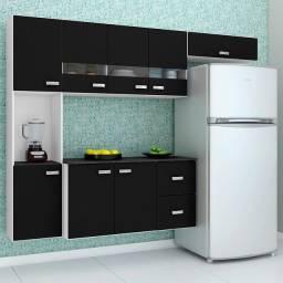 armário de cozinha de parede com balcão, novo na caixa entrega grátis.