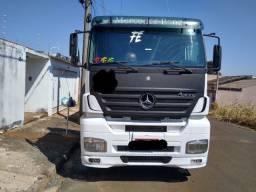 Caminhão Mercedes Bens Axor 2540 2007 + carreta Caçamba Randon 2002