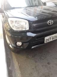 Camionete Suv, Toyota RAV4, R$28.900 AUT. 2005,preta, banco de couro,