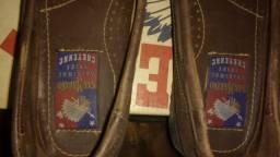 Sapato San-Marino Cheyenne Conforto Couro Legitimo Nº 42
