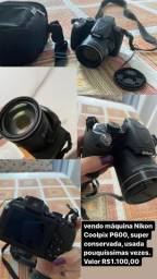 Vendo Câmera Coolpix P600