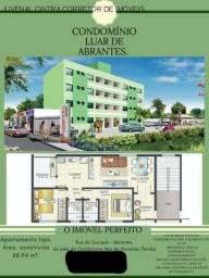 Vendo apartamento em Abrantes, 2/4 com 1 suíte, novo, R$ 230.000,00