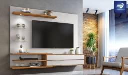 """Home Suspenso para TV até 60"""" com LED #FreteGRÁTIS* #Novo #Lacrado"""