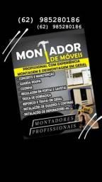 Montador de moveis profissional com experiência